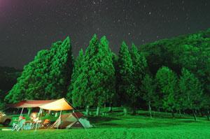 花鳥渓谷キャンプ場