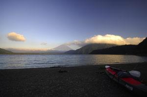 富士山もチラッと
