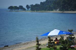 ビーチサイドキャンプ