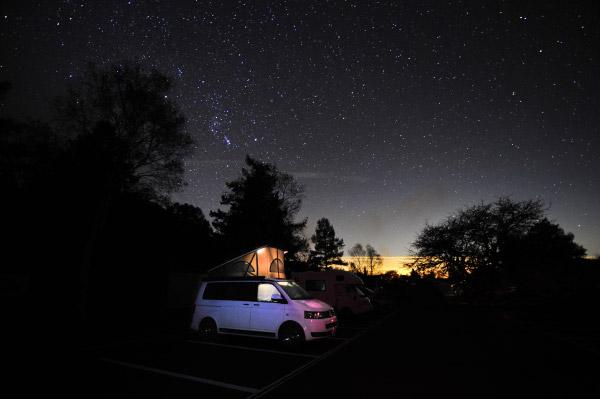 T5で星空観察