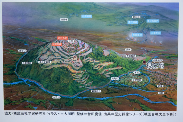 長谷堂城跡