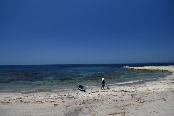 広いビーチ