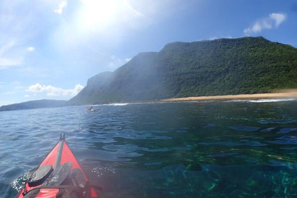目的の海岸