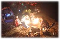 中禅寺湖の夜は更けて…