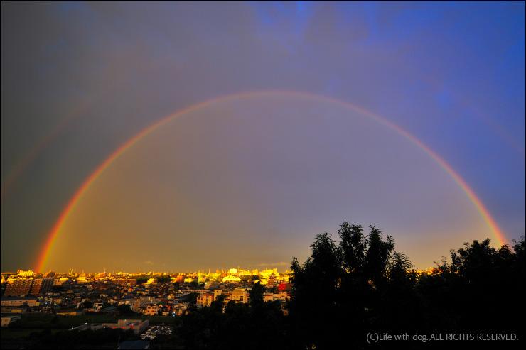 semicircular rainbow